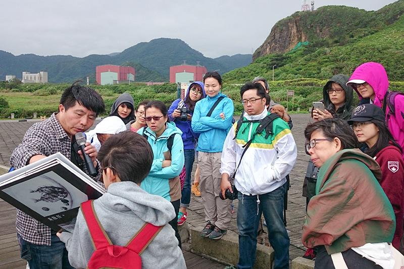 北海岸反核行動聯盟青年營隊、在地生態文史導覽活動